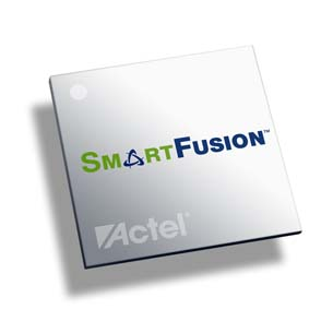 Actel SmartFusion FPGA Available from Mouser Electronics