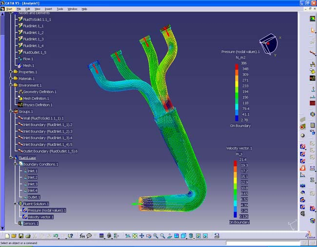 ansys releases fluent for catia 5 1   digital engineering