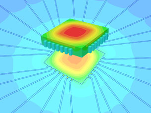 ANSYS Releases Icepak 12.0 Fluid Dynamics Simulation Software