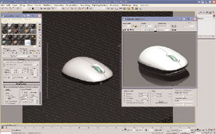 Using the 3ds Max Design 2009 interface, you can specify a region — or selected objects — of the scene to render for faster feedback.