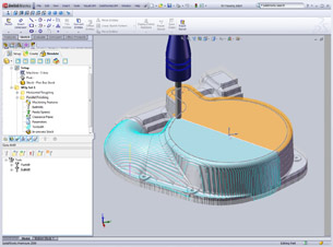 CAM System Integrates with SolidWorks