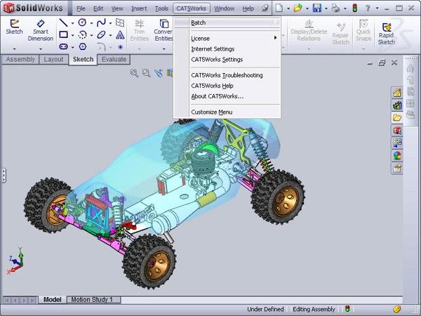 Catia V4 V5 Translator Supports Solidworks 2011 Digital Engineering 24 7