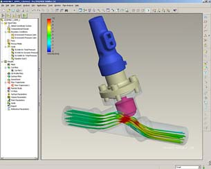 CFD Fully Embedded in PTC Pro/ENGINEER