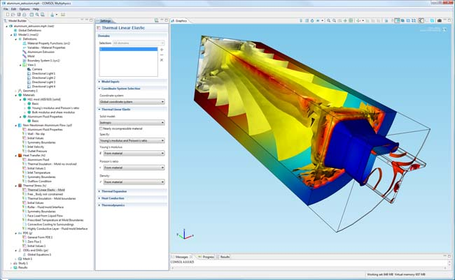 COMSOL Multiphysics Version 4.0 Now Shipping