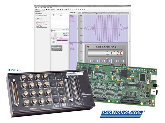 Data Translation Announces High Density Simultaneous USB DAQ Module