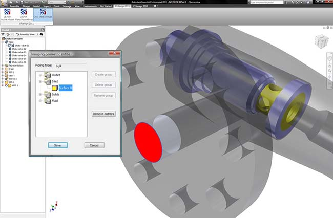 Design Study Automation Embedded in the CAD