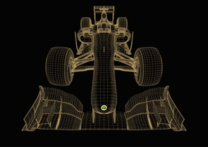 CADdoctor F1 seat