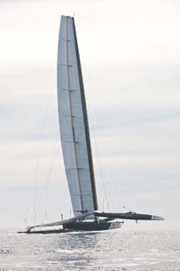 CD-adapco's STAR-CCM+ Optimizes Sail Properties of the Largest Wing Ever for the BMW ORACLE Racing Team
