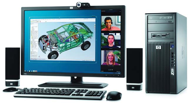 HP Z200 Brings Power to the People