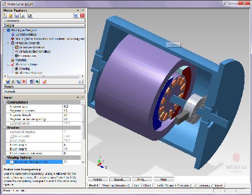 Infolytica motorsolve v4 1 available for Bldc motor design calculations