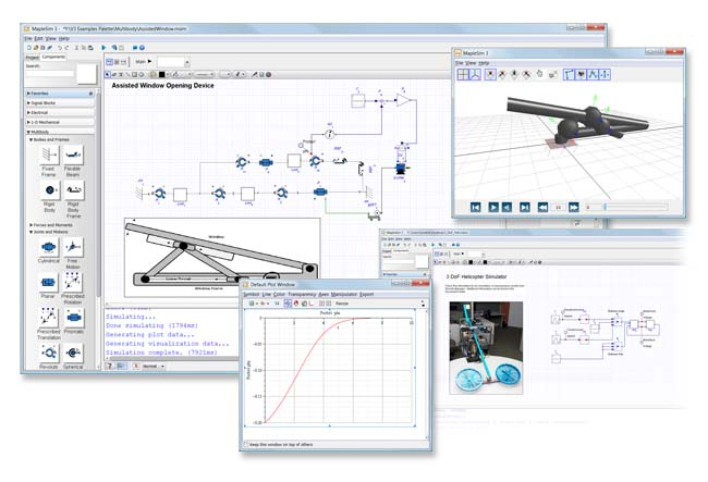 Maplesoft Releases MapleSim 3 Modeling Software