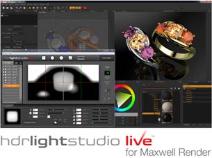 Next Limit Technologies and Lightmap Ltd. Announce Maxwell Render Support for HDR Light Studio Live Plugin