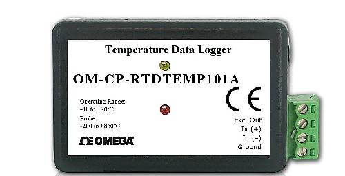 Omega Data Acquisition : Omega introduces precision rtd temperature data logger