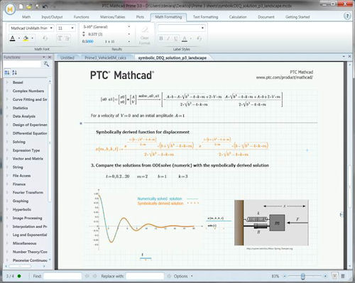 Pick Of The Week Ptc Introduces Mathcad Prime 30 Digital. Worksheet. Mathcad Worksheet Exle At Mspartners.co