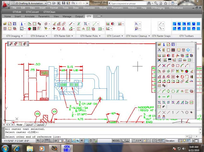 Software Bridges Paper to AutoCAD Gap