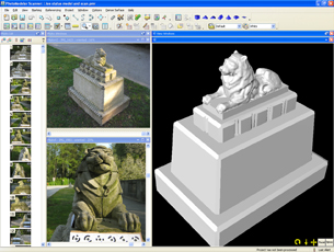 Software Turns Photos into Scans, 3D Models