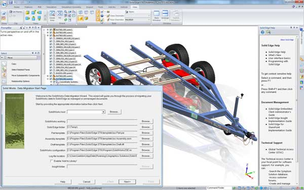 SolidWorks Importer for Solid Edge