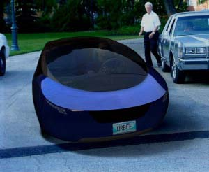 Stratasys Partners on Urbee Hybrid Car with 3D Printed Body