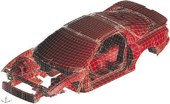 Structural FEA in the Automotive Industry - Digital Engineering 24/7