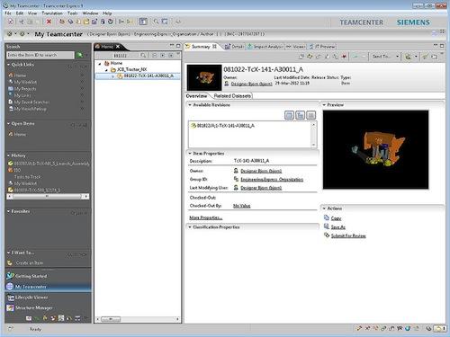 Teamcenter Express 9 1 Released - Digital Engineering 24/7