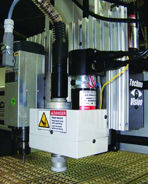 Techno CNC Routers' New Universal Knife System Processes Multiple Applications in One Setup