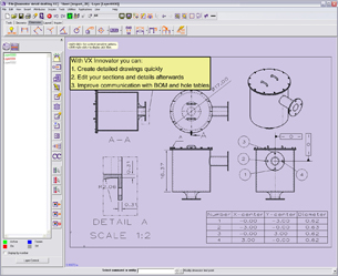 VX Innovator Suits All Levels of CAD/CAM Users