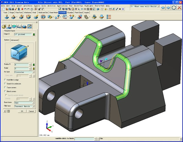 Zw3d 2011 cad cam system to be released soon digital Cad system