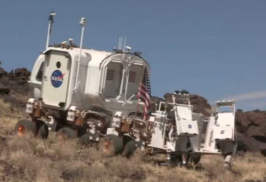 NASA's Space Exploration Vehicle