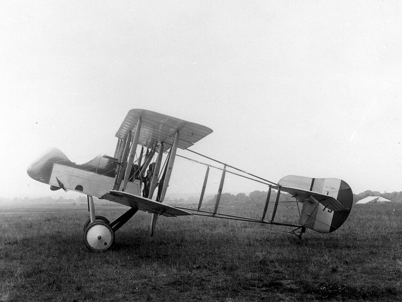 The Airco DH.2 photographed at the height of its glory.