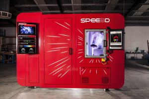 LightSPEE3D is the world's first metal 3D-printer that leverages supersonic 3D deposition (SP3D) technology. (Image courtesy SPEE3D)
