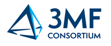 Logo for the 3MF Consortium, the industry group that is developing the 3MF file format for enhanced 3D printing. (Image courtesy 3MF Consortium)