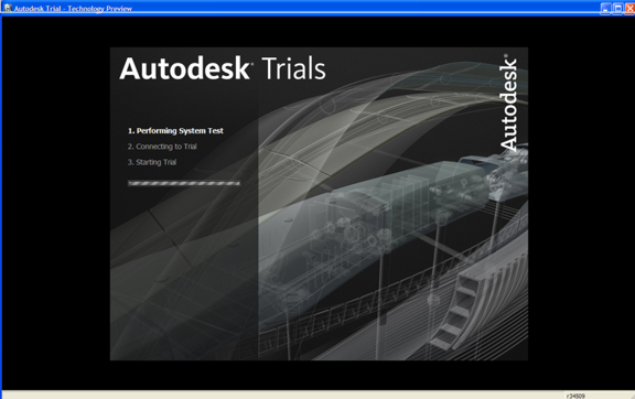 Consider yourself extremely lucky if you manage to get past this screen to gain access to Autodesk Project Twitch, the company's experiment in Web-hosted CAD.