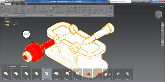 Autodesk Inventor Publisher 2011 with Mobile Export