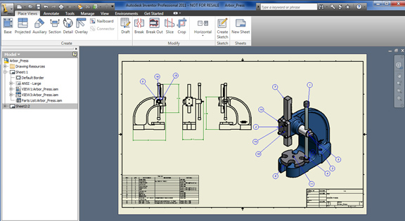 Autodesk Adds Inventor Support to AutoCAD WS - Digital