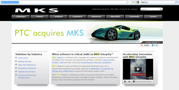 PTC Buys MKS, Adds System and Software Management to PLM