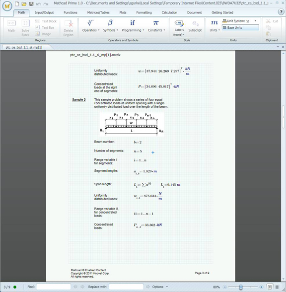Knovel: 600 More Mathcad Worksheets Go Online - Digital ...