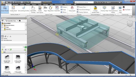 Drag And Drop Factory Mockup Autodesk Factory Design Suite Ultimate 2012 Digital Engineering 24 7