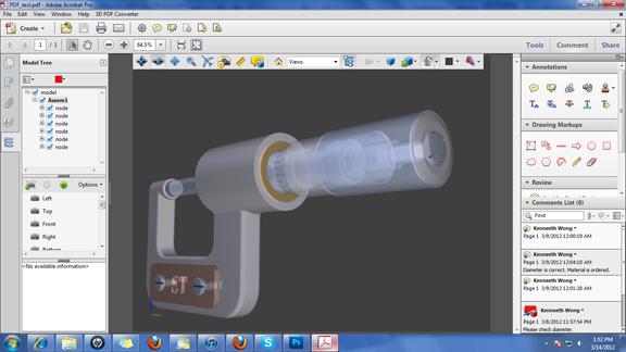 Скачать 3D PDF Converter Tetra 4D