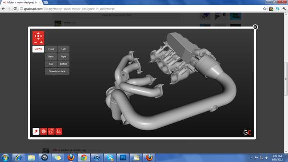 GrabCAD Launches Web-Based 3D Viewer - Digital Engineering 24/7