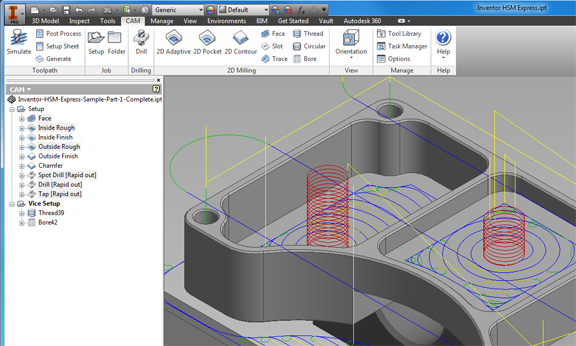 Inventor HSM Express Now in Public Beta - Digital