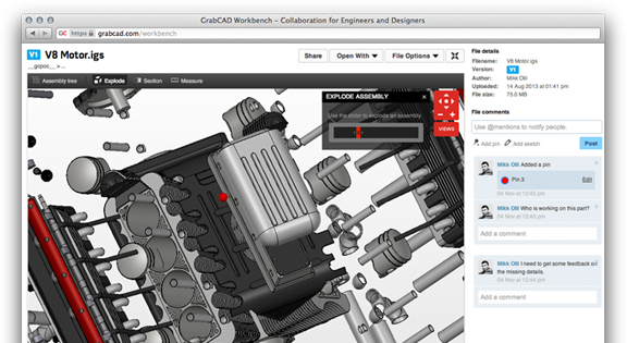 GrabCAD Workbench Entices More Users with Added Features