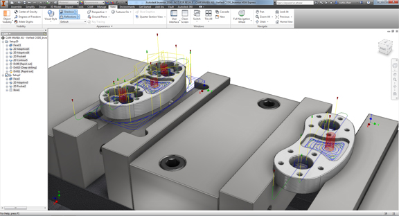 Autodesk Releases Inventor HSM, a CAD-Integrated CAM Product