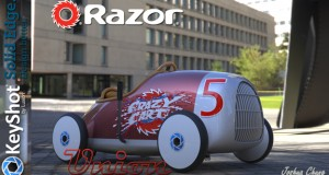 "Joshua Chung's design for the ""Get Crazy"" crazy cart redesign contest takes inspiration from the Auto Union Type C racecar from 1930s."