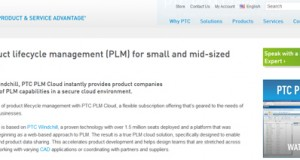 PTC launches PLM Cloud, a SaaS licensing option for its Windchill product.