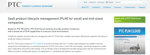 PTC Charges into the Cloud with SaaS PLM - Virtual Desktop