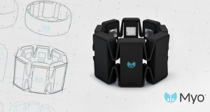 The gesture-driven Myo armband from Thalmic Labs could be programmed to trigger CAD design reviews or play games.