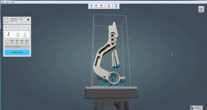Print Studio with automatic support structure generation in Inventor (image courtesy of Autodesk)