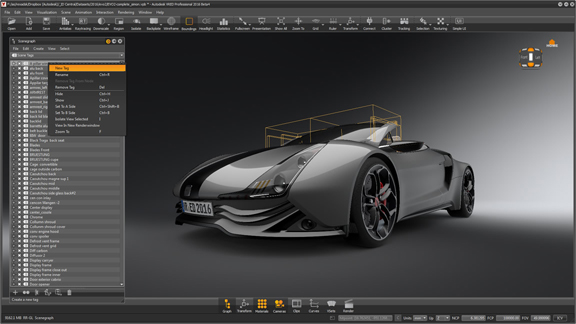 Automotive visualization in Autodesk VRED