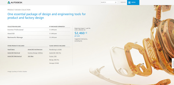 Autodesk gets ready to replace suites with Industry Collections.