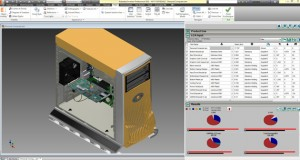 Trayak's EcoDesigner plug-in for Autodesk Inventor CAD software (image courtesy of Trayak).